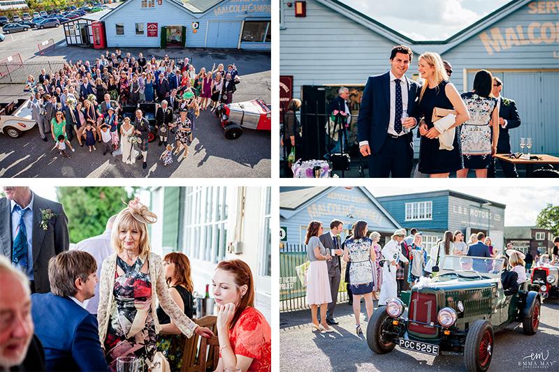 emma may wedding photography photographer weddings sussex london brighton silk dress brook lands museum navy suit