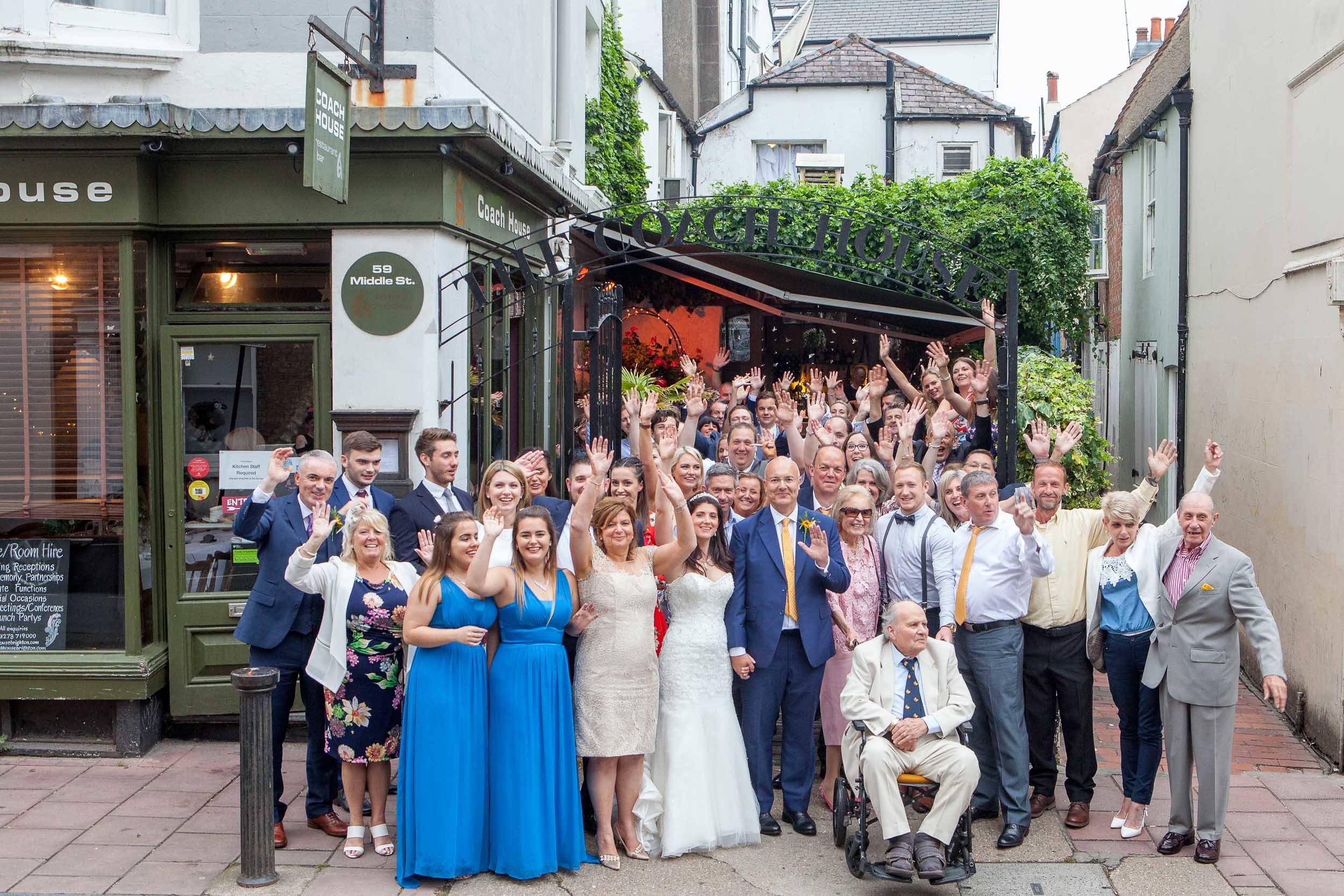coach house wedding brighton