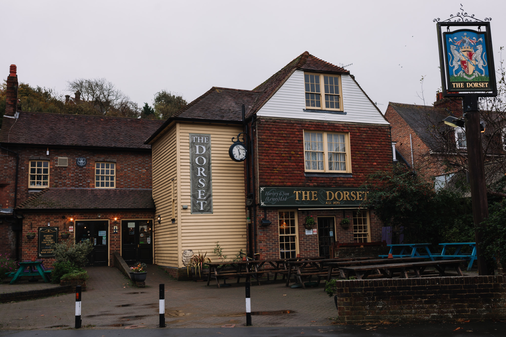 the dorset pub lewes wedding