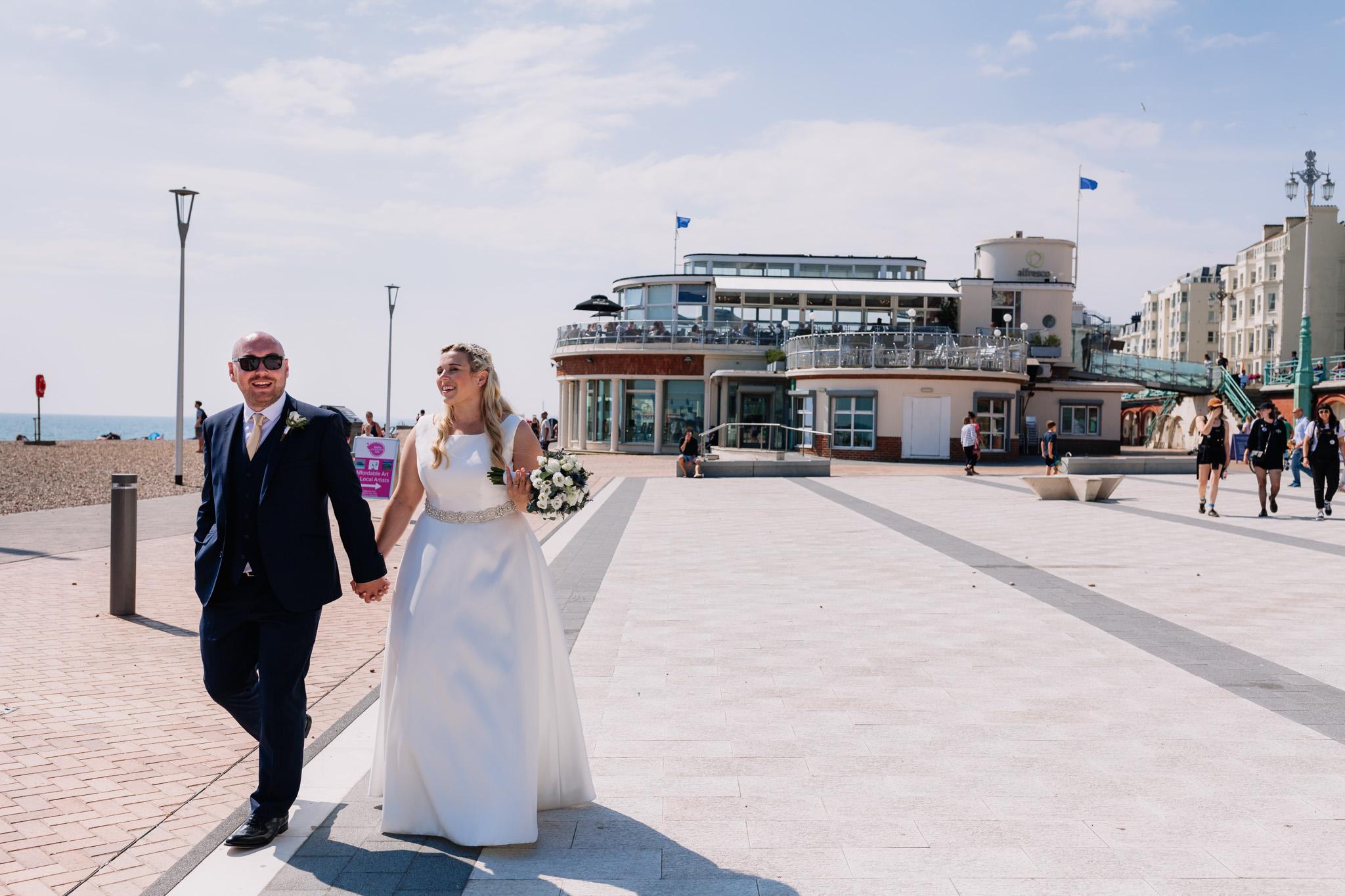 alfresco brighton wedding